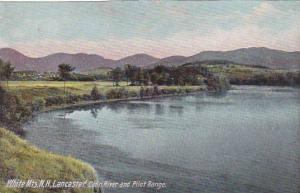 New Hampshire White Mountains Lancaster Conn River And Pilot Range