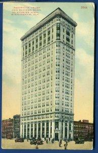 American Trust & Savings Bank Building Birmingham Alabama al postcard