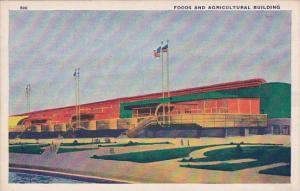 Foods And Agricultural Building Chicago World's Fair 1933-34