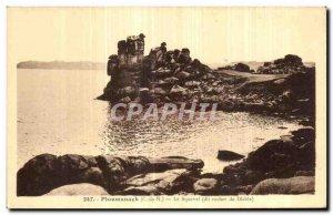 Old Postcard Ploumanac pm Squevel