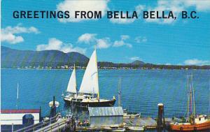 Canada Greetings From Bella Bella British Columbia