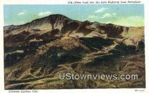 Pike's Peak - Colorado Springs , Colorado CO