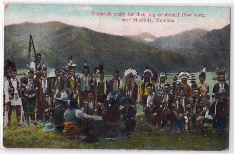 Flatheads, Pow Wow, Missoula MT