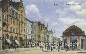 Auberer Landstrabe Linz a D Austria Postal Used Unknown