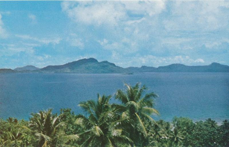 Southern Namonoas area of Truk Lagoon - Chuuk, Micronesia