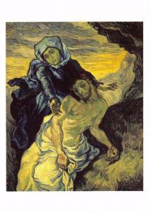 Postcard Art PIETA (after Delacroix) (1898) by Vincent Van Gogh MU2384 #310