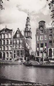 RP, Groenburgwal With Tower Of The Southern Church, Amsterdam (North Holland)...