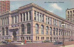 Illinois Chicago Public Library Curteich