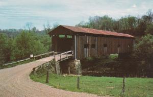 Rinard Covered Bridge on Little Muskingum River - Washington County, Ohio