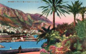 Monaco - View of Monte Carlo and Casino