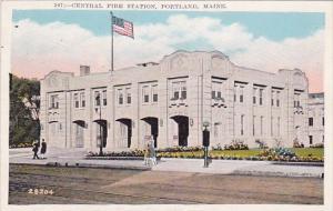 Maine Portland Central Fire Station