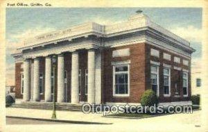 Griffins, GA USA Post Office Unused