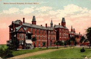 Maine Portland Maine General Hospital 1912