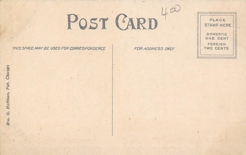 Barrington Illinois~Zion Evangelical Church~Methodist Episcopal Church~1908 PC