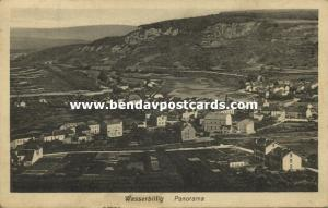 luxemburg, WASSERBILLIG, Panorama (1922) Stamp