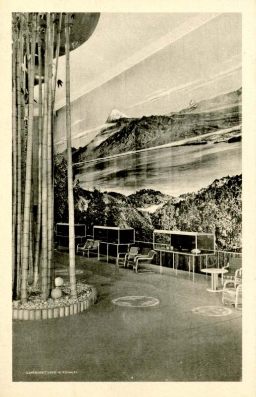 NY - New York World's Fair, 1939. Hall of Nations, Japan Hall