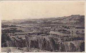 Aerial View, Windsor, Vermont, PU-1915
