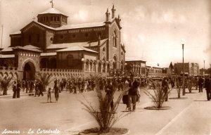 RPPC - Asmara, Eritrea, Africa - La Cattedrale - 1950s