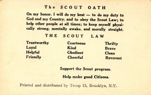 Scouting - Troop 15, Brooklyn, NY. The Scout Oath