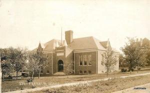 1915 Franklin School Marville Missouri RPPC Real photo postcard 12747