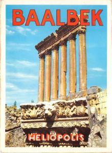 B52519 Lebanon Baalbeeck the Six Columns of the Jupiter temple  temple