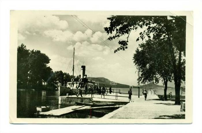 RP: Udvozlet Fonyodrol , Hungary , PU-1945
