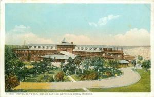 C-1910 Hotel El Tovar Grand Canyon Arizona Detroit Publishing Harvey 5709