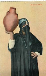 Egypt Porteuse d'Eau Native girl 01.53