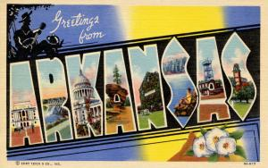 Large Letter - Arkansas