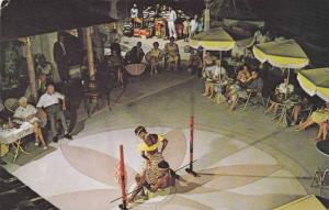 The famous Limbo Dance at the coral Reef Club, Barbados,40-60s