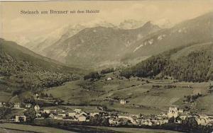 Steinach am Brenner mit dem Habicht , Austria , PU-1912