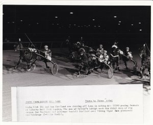 LIBERTY BELL PARK, Harness Horse Race, MAYBE HIGH Wins