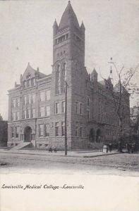 Louisville Medical College, Louisville, Kentucky, 1910-1920s