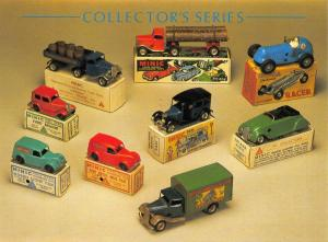 Postcard Collectors Series Minic Toys, English c1930/40, by Athena Int. #36