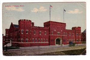 Armory, Chelsea, Massachusetts, Flag Cancel