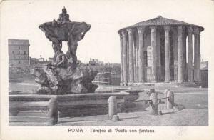 Tempio di Vesta con Fontana, Rome, Lazio, Italy, 1900-10s