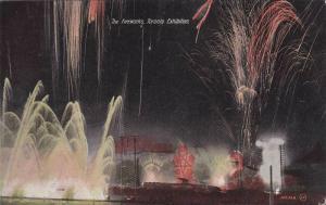 The Fireworks, Toronto Exhibition, Toronto, Ontario, Canada, PU-1909
