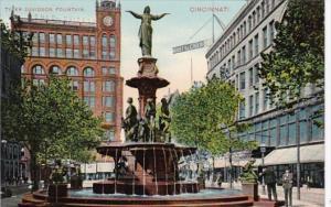 Ohio Cincinnati Tyler Davidson Fountain