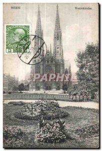 Old Postcard Wien Votivkirche