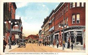 James Street in Middletown, New York
