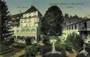 Jordanbad b. Biberach an der Riss Badehaus Postcard