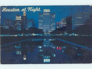 Pre-1980 PANORAMIC VIEW Houston Texas TX hp4509