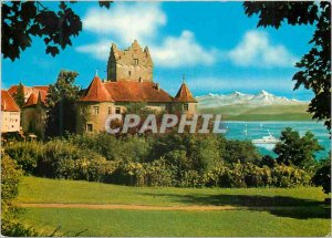 Postcard Modern Altes Schloss Meersburg