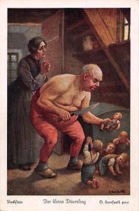Fairy tale: Bechstein, Der kleine Daemling, O. Herrfurth pinx