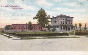 Pennsylvania Philadelphia Saint Lukes Hospital 1909