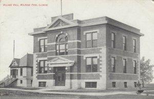 MELROSE PARK , Illinois, 1910 ; Village Hall