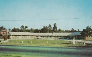 DILLON, South Carolina, 1940-60s; Webb's Motel & Cafe, Classic Cars