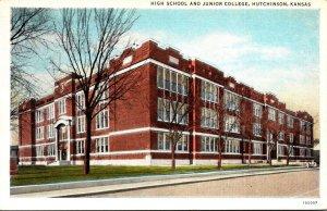 Kansas Hutchinson High School and Junior College Curteich