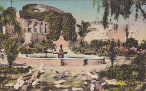Ruins Of Stone Church Old Mission San Juan Capistrano California Handcolored ...