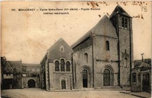 CPA BEAUGENCY Eglise Notre-Dame Facade Romane (607420)